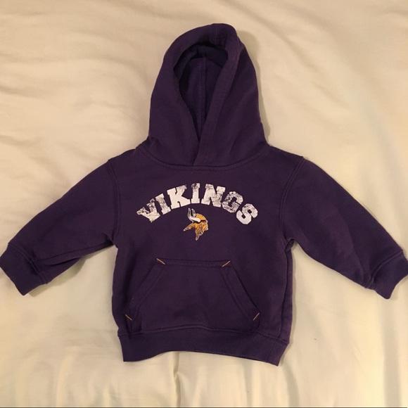 finest selection 9c790 4ff49 MN Vikings sweatshirt 18M